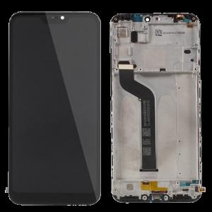 Οθόνη LCD με Touch Panel και Mid-Frame για Xiaomi Mi A2 Lite - Μαύρο