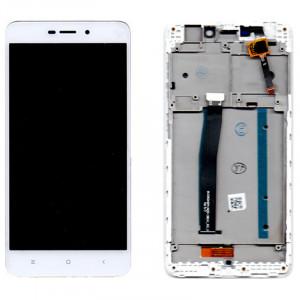 Οθόνη με Touch Panel & Frame OEM για Xiaomi Redmi 4A - Άσπρο