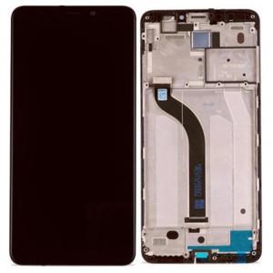 Οθόνη LCD με Touch Panel και Mid-Frame για Xiaomi Redmi 5 - Μαύρο