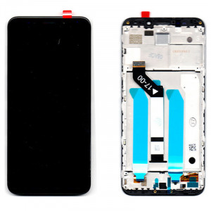 Οθόνη LCD με Touch Panel και Mid-Frame για Xiaomi Redmi 5 Plus - Μαύρο