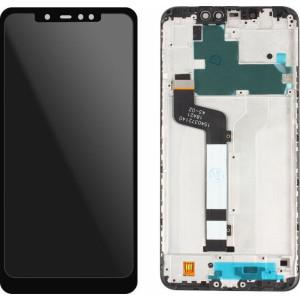 Γνήσια Οθόνη με Πλαίσιο για Xiaomi Redmi Note 6 Pro (Μαύρο)