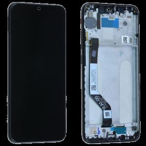 Γνήσια Οθόνη LCD με Touch Panel και Mid-Frame για Xiaomi Redmi Note 7 - Μαύρο