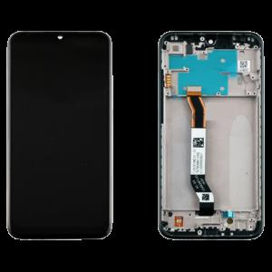 Οθόνη LCD με Touch Panel και Mid-Frame για Xiaomi Redmi Note 8 - Μαύρο