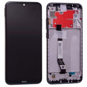 Γνήσια Οθόνη LCD με Touch Panel και Mid-Frame για Xiaomi Redmi Note 8T - Μαύρο