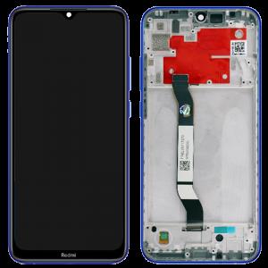 Γνήσια Οθόνη LCD με Touch Panel και Mid-Frame για Xiaomi Redmi Note 8T - Μπλε
