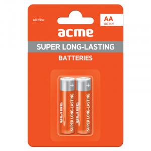 Μπαταρία Αλκαλική Acme LR6 AA (2 pcs)