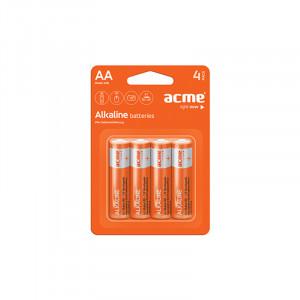 Μπαταρία Αλκαλική Acme LR6 AA (4 pcs)