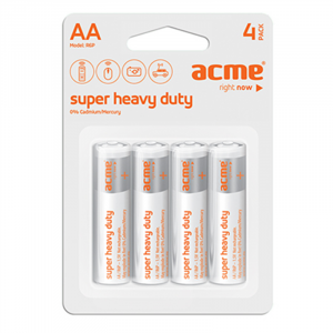 Μπαταρία Acme Super Heavy Duty R6P AA (4 pcs)
