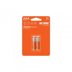 Μπαταρία Αλκαλική Acme LR03 AAA (2 pcs)