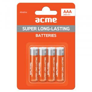 Μπαταρία Αλκαλική Acme LR03 AAA (4 pcs)