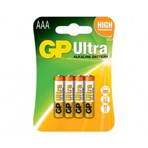 Μπαταρία Αλκαλική GP Ultra LR03 24AU-U4 AAA