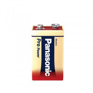 Μπαταρία Αλκαλική Panasonic Pro Power 9V 6LR61