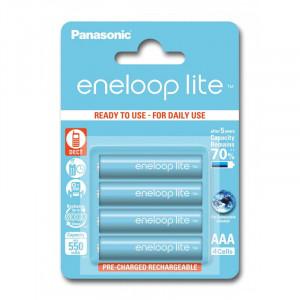 Μπαταρίες Επαναφορτιζόμενες NiMH Panasonic Eneloop Lite HR03 550mAh AAA