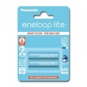Μπαταρίες Επαναφορτιζόμενες NiMH Panasonic Eneloop Lite HR03 550mAh AAA (BK-4LCCE/2BE)