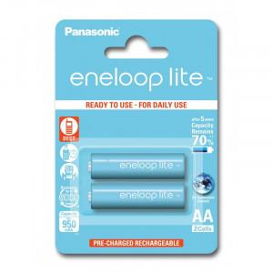Μπαταρίες Επαναφορτιζόμενες NiMH Panasonic Eneloop Lite HR6 950mAh AA
