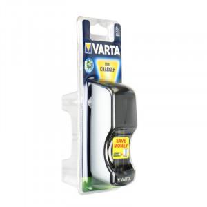 Φορτιστής Επαναφορτιζόμενων Μπαταριών AA / AAA Varta Mini
