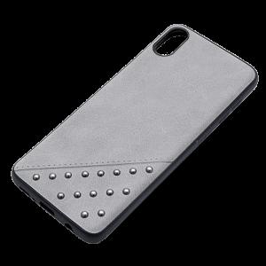 Θήκη Beeyo Brads Type 1 Back Cover για Apple iPhone X / XS - Γκρι