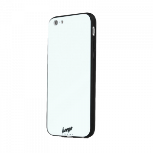 Θήκη Beeyo Glass Back Cover για Apple iPhone 7/8 Plus - Άσπρο