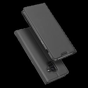 Θήκη DUX DUCIS Skin Pro Flip με Πορτάκι για Samsung Galaxy A8 2018 - Γκρι