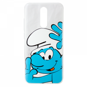 Θήκη TPU Back Cover Smurf 013 για Xiaomi Redmi 8