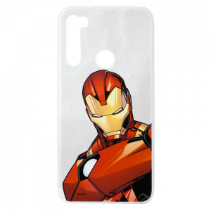 Θήκη TPU Back Cover Iron Man 005 για Xiaomi Redmi Note 8