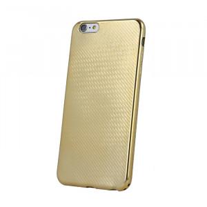 Θήκη Elegance Carbon για Samsung A3 2017 A320 - Χρυσό