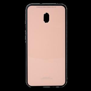 Θήκη Forcell Back Cover Glass για Xiaomi Redmi 8A - Ροζ