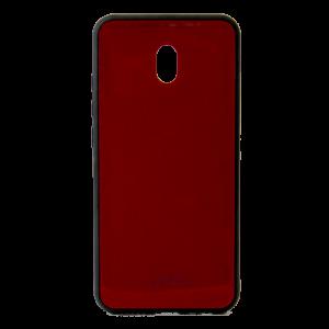 Θήκη Forcell Back Cover Glass για Xiaomi Redmi 8A - Κόκκινο