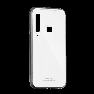 Θήκη Forcell Glass για Samsung Galaxy A9 2018 - Άσπρο