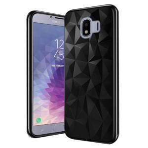 Θήκη Forcell PRISM Σιλικόνης Back Cover για Samsung Galaxy J4 (2018) - Μαύρο