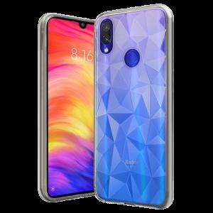 Θήκη Forcell PRISM Σιλικόνης Back Cover για Xiaomi Redmi Note 7 - Διάφανο
