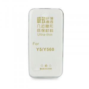 Θήκη Σιλικόνης για Huawei Y5 2018 - Διάφανο
