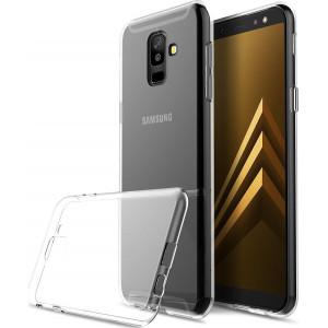 Θήκη Σιλικόνης Ultra Slim 0.5mm για Samsung A6 2018 - Διάφανο