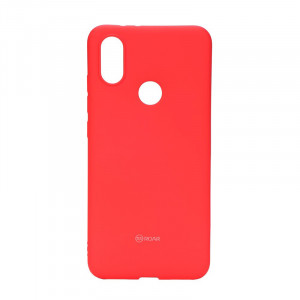 Θήκη Roar Colorful Jelly Back Cover για Xiaomi Mi A2 - Κόκκινο Ροζ