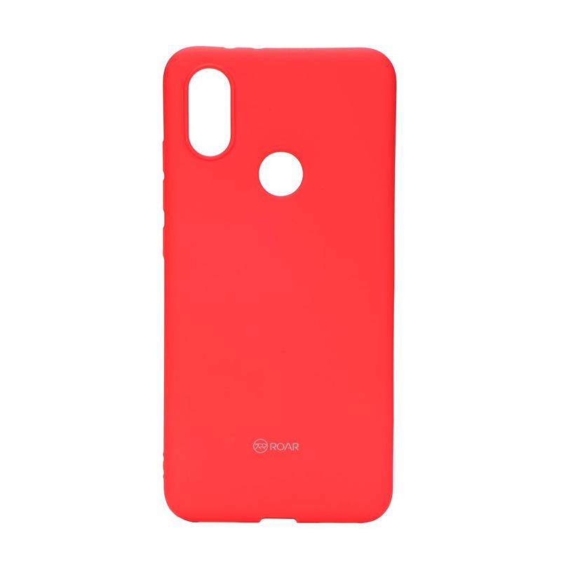 Θήκη Roar Colorful Jelly Back Cover για Xiaomi Mi A2 - Κόκκινο Ροζ