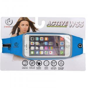 """Θήκη Μέσης για Smartphone 5.5"""" Rebeltec Active W55 - Μπλε"""