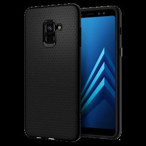 Θήκη Spigen Liquid Air για Samsung Galaxy A8 2018 - Μαύρο
