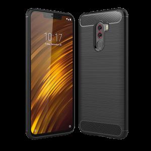 Θήκη CARBON Back Cover για Xiaomi Pocophone F1 - Μαύρο