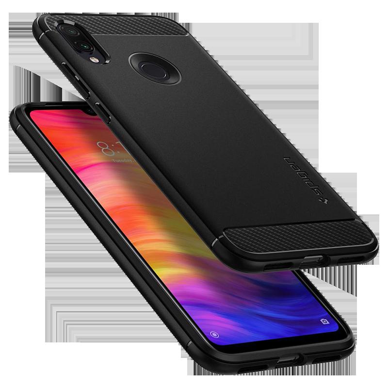 df7d0e3ff9 Θήκη Spigen Rugged Armor Back Cover για Xiaomi Redmi Note 7 - Μαύρο