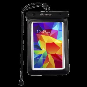"""Αδιάβροχη Θήκη για Smartphones και Tablets 8"""" Μαύρο"""