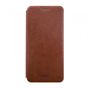 Θήκη MOFi Flip με Πορτάκι για Xiaomi Redmi 5 Plus - Καφέ