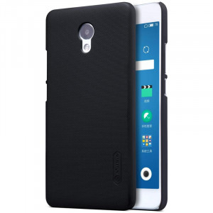 Θήκη Nillkin Frosted Shield Back Cover για Meizu M5 Note - Μαύρο