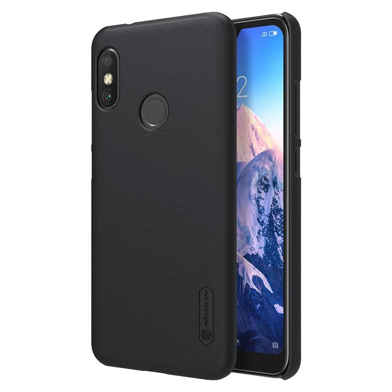 afb04f7755 Nillkin Frosted Shield Θήκη Back Cover για Xiaomi Mi A2 Lite - Μαύρο ...
