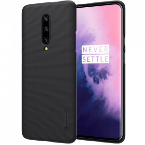 Θήκη Nillkin Frosted Shield Back Cover για Oneplus 7 Pro - Μαύρο