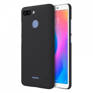 Θήκη Nillkin Frosted Shield Back Cover για Xiaomi Redmi 6 - Μαύρο