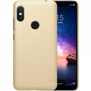 Θήκη Nillkin Frosted Shield Back Cover για Xiaomi Redmi Note 6 Pro - Χρυσό