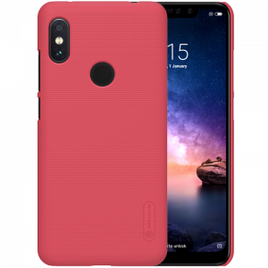 Θήκη Nillkin Frosted Shield Back Cover για Xiaomi Redmi Note 6 Pro - Κόκκινο