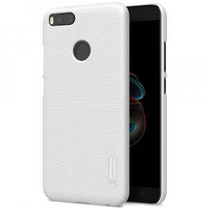 Θήκη Nillkin Frosted Shield Back Cover για Xiaomi Mi A1 - Άσπρο