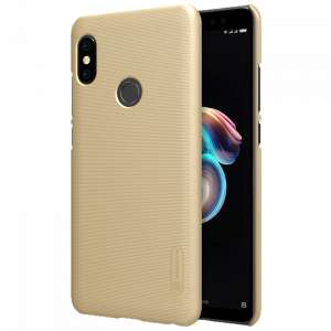 Θήκη Nillkin Frosted Shield Back Cover για Xiaomi Redmi Note 5 Ai DC - Χρυσό