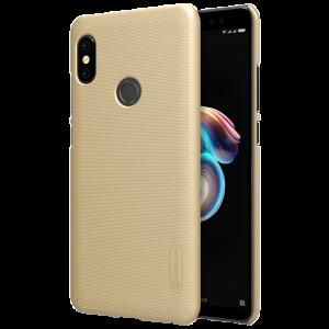 Θήκη Nillkin Frosted Shield Back Cover για Xiaomi Redmi Note 5 Ai DC - Χρυσό